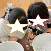 【全体】今年最後の製作「スノードームづくり」!!